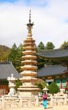 Woljeongsa temple - Pagoda (National Treasure #48)