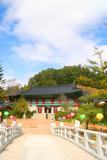 Woljeongsa temple entrance