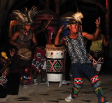 Dancers and drummers