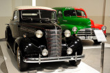 1938 Chevrolet Master De Lux and 1948 Chevrolet Stylemaster (Red/Green)