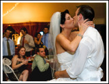 First Dance Kiss and Embrace