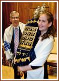 On Bima, Dad Kvells as Bat Mitzvah Daughter Takes Torah