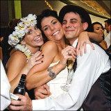 Wedding Exuberance in the Poconos