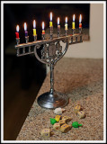 Saying Goodbye to Chanukah.