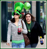 On Their Way to the St. Pats Parade