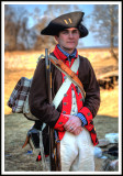 Revolutionary War Soldier played by Park Service Official