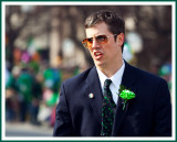 2009: Doing Crowd Control at the St. Pats Parade