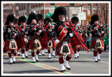 2009: Impressive Bagpipers Marching Down Wyoming Avenue