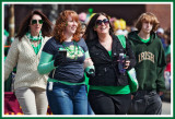 Gals March in the St Pats Parade