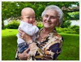 Grandma Looking Good at 90!