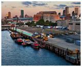 Boston Harbor at Daybreak