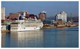 Norwegian Dawn Docked in Halifax Harbor