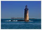 Lonely Portland Lighthouse