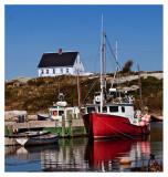 Lobster Boats at Peggy's Cove Nova Scotia