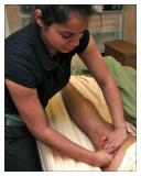 Theraputic Hamstring Massage At Triune
