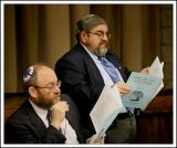 Two Rabbis Conducting the Two Temple Tu B'shevat Seder
