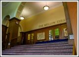 Entrance to the  Mellow Theatre of Lackawanna College