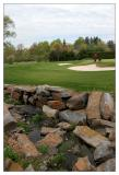 Glen Oak Country Club, Hole 8 with Rocky Water Hazard