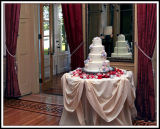 The Cake Awaits at the Mansion