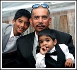 Father and Two Sons at the Wedding