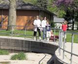 Walk in the park, Falls Park, Pendleton, IN