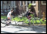 Boys on Bicycle Built for Four, Pendleton, IN