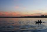 Nile, at sunset