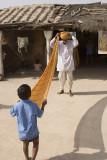 india, jodhpur village