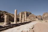 Petra, road to Royal Tombs