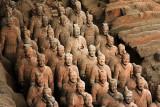 china, xi'an, terra cotta warriors 2004