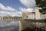 prague, city river