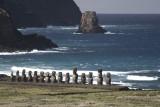chile, easter island:Tongariki