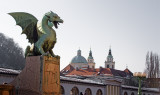 Ljubljana, Dragon Bridge