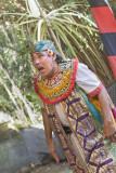 Barong & kris dance, south Bali