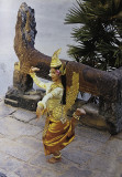 performer at Angkor Wat