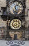 prague, Old Town Square--Clock Tower