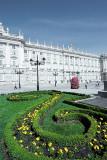 madrid, palace garden