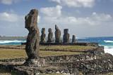 chile, easter island:  Hanga Roa