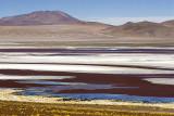 colored ice, en route to Uyuni
