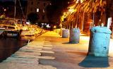split, harbor promenade
