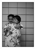 Jessica and Joseph, Onjuku, September 2009