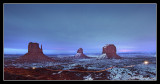 Monument Valley at Nightfall