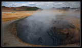 Geothermal activity near Lake Myvatn