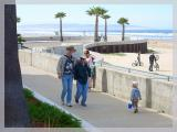 Sunday morning was another beautiful day in Pismo Beach on the boardwalk.