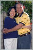 Carlito Untalan  & wife REBECCA