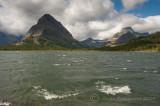 Windy Day at Many Glacier