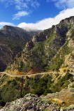 The road to Olympos