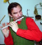 Michael Tveroy's home made flute