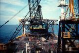 Crane Barge Deck