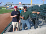 John and David at Whataburger Field